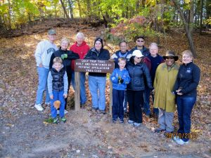Shouse Village Neighbors volunteering at Wolf Trap Trail